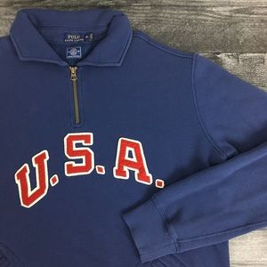 2016 Polo Ralph Lauren USA Olympics Pullover